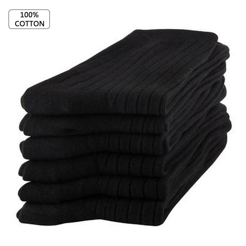 10Pairs/lot Men's Socks Cotton Black Business Male Long Socks High Quality