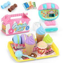 Детский игровой кассовый аппарат для супермаркета 22 шт набор