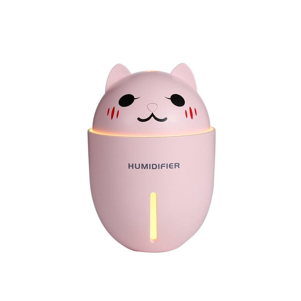 Creative Cute Pet Humidifier Usb Home Quiet Office Cartoon Mini Three-in-one Humidifier