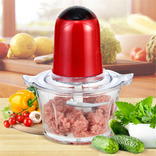 2L Electric Meat Grinder Multifunctional Blender Household Food Processor Vegetable Cutter Kitchen Tool 5 Colors
