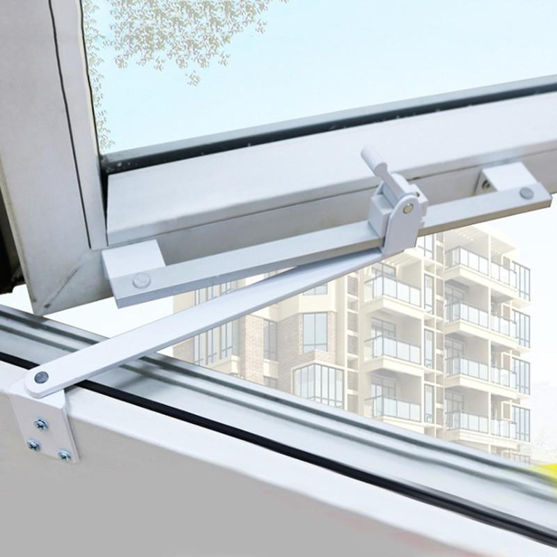 Бытовые подтяжки для гостиной, сверхмощные подтяжки, пластиковая сталь, ПВХ, оконная опора, ограничитель, алюминий|Ветровая связь|   | АлиЭкспресс