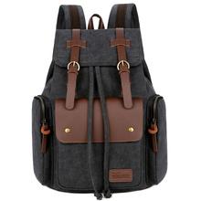 Plecaki podróżne o dużej pojemności plecaki sportowe na świeżym powietrzu wysokiej jakości płótno plecaki męskie plecaki podróżne Dropshipping tanie tanio HAIMAITONG PŁÓTNO CN (pochodzenie) wytłoczone Unisex Miękka osłona 36-55 litrów Otwór na wyjście miękki uchwyt