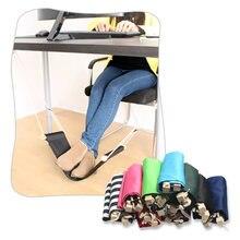 Креативный Настольный гамак для ног подставка мини качели дома
