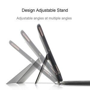 Image 2 - 7 colores Teclado retroiluminado funda para iPad Air, iPad Pro 9,7, 2018, 2017 1 2 5th 6th Pro 10,5 3 11 Smart teclado Bluetooth para iPad Pro 11 pulgadas 3 2019 casos Shell