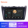 IPS Screen 4G Net DSP ROM 2GB RAM 32GB 2in Android 8.1 Car GPS radio Head Unit Player For Mazda 6 Rui wing 2008 2009 2010 2011