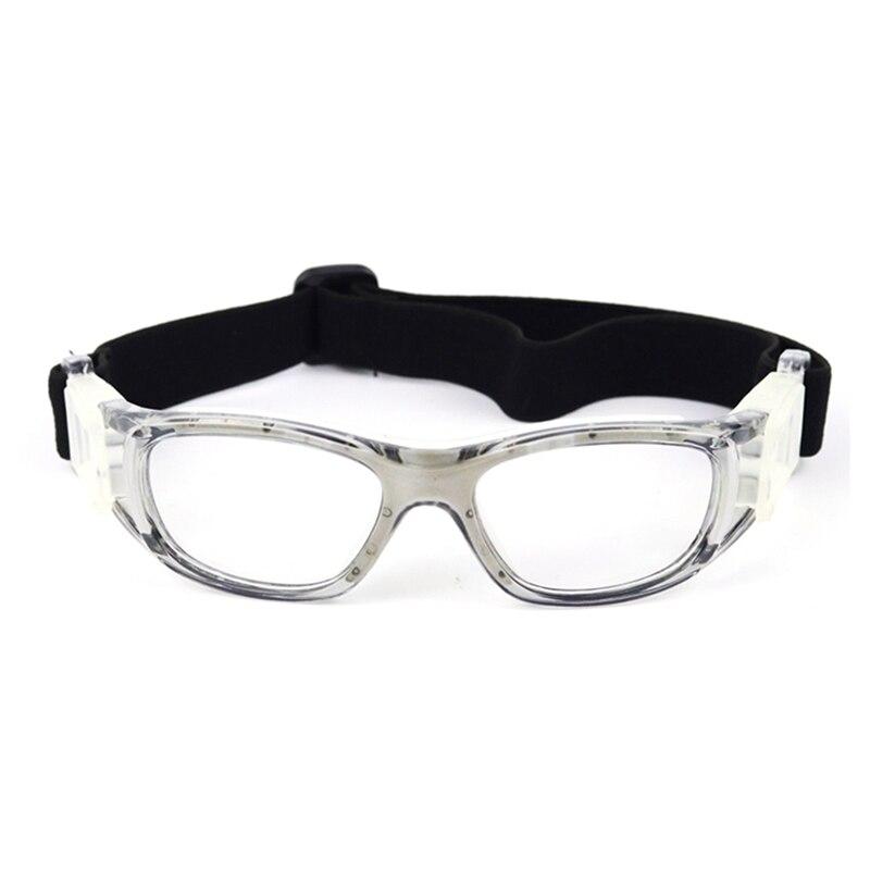 Kids Basketball Goggles Ultralight UV400 Adjustable Anti-fog Dust-proof Protective Safety Glasses For Football Baseball
