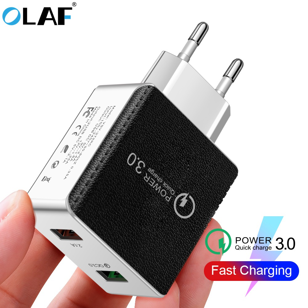 Usb-Charger Us-Eu-Adapter Fast-Phone Note-7 Xiaomi Redmi Samsung For A50 48W QC
