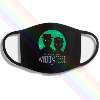 The Adventures Of Walt And Jesse VARIANT Printing Washable Breathable Reusable Cotton Mouth Mask image