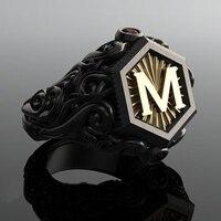 טבעת אופנתית לגבר