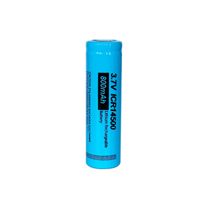 Image 3 - PKCELL ICR14500 14500 800mAh 3.7V Rechargeable Li ion Batteries led lampe de poche Batterie Flat Top