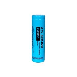 Image 3 - PKCELL ICR14500 14500 800mAh 3.7V akumulator bateria litowo jonowa led lampe de poche Batterie płasko zakończony