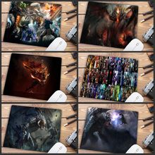Big Promotion Design Speed DOTA 2 Game MousePads Computer Gaming Mouse Pad Gamer Play Mats Version Mousepad 22X18CM(China)