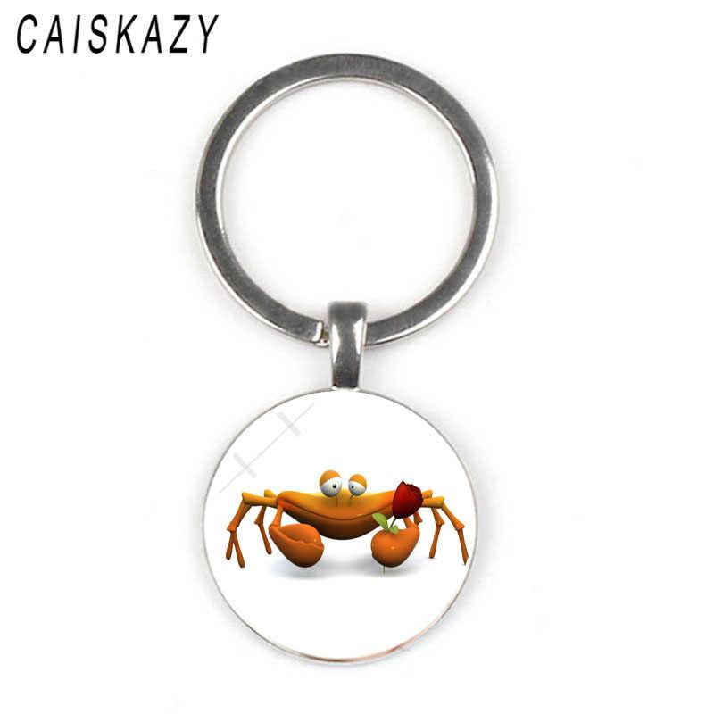 ใหม่น่ารักสัตว์ปู LizardKey น่ารักพวงกุญแจสำหรับสาว