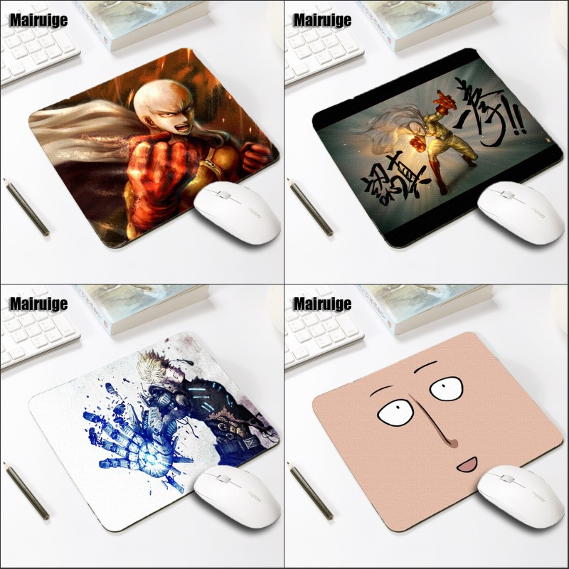 Mairuige ONE PUNCH-MAN Saitama Sensei Mouse Pad Anime Mousepad 220x180x2MM Desk Gaming Game Pc Laptop MiceMats