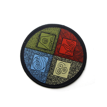 The Last Airbender Simple style Applique Patches DIY Iron or Sew on Clothes Men Women Accessory Sticker Embroideried Badge E0592