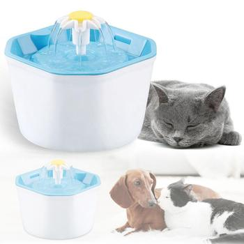 1.6L Automatic Pet Cat Water Fountain Ultra Quiet USB Dog Drinking Fountain Drinker Feeder Bowl Pet Drinking Fountain Dispenser pet feeder automatic drinking fountain automatic food dispensers bowl cat dog