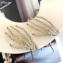 Женские заколки для волос proly с кристаллами девочек аксессуары