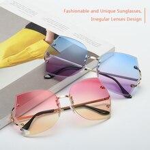 Модные солнцезащитные очки унисекс для езды на велосипеде с океанской пленкой, очки с защитой от ультрафиолета 400, Необычные линзы для езды на велосипеде