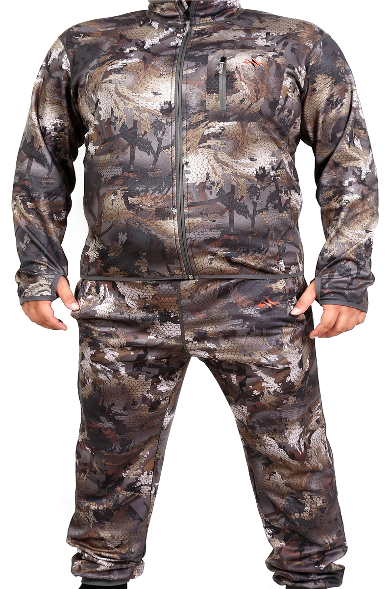 2020 Sitex Waterfowl Lightweight Crew Quick-drying Thermal Underwear Hunting