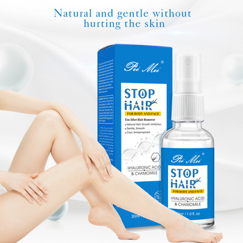 Full Body Hair Growth Inhibitor Permanent Hair Removal Spray Stop Hair Bikini Intimate Painless Hair Suppressing Essence 30ml hair growth removal inhibitor permanent painless armpit essence facial pubic spray skin beard legs growth hair stop sm t0f9