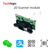 Techlogic 1D 2D Сканер модуль Встроенный штрих-код головка Ридера фиксированный 2D Штрих-Код Сканирующий двигатель