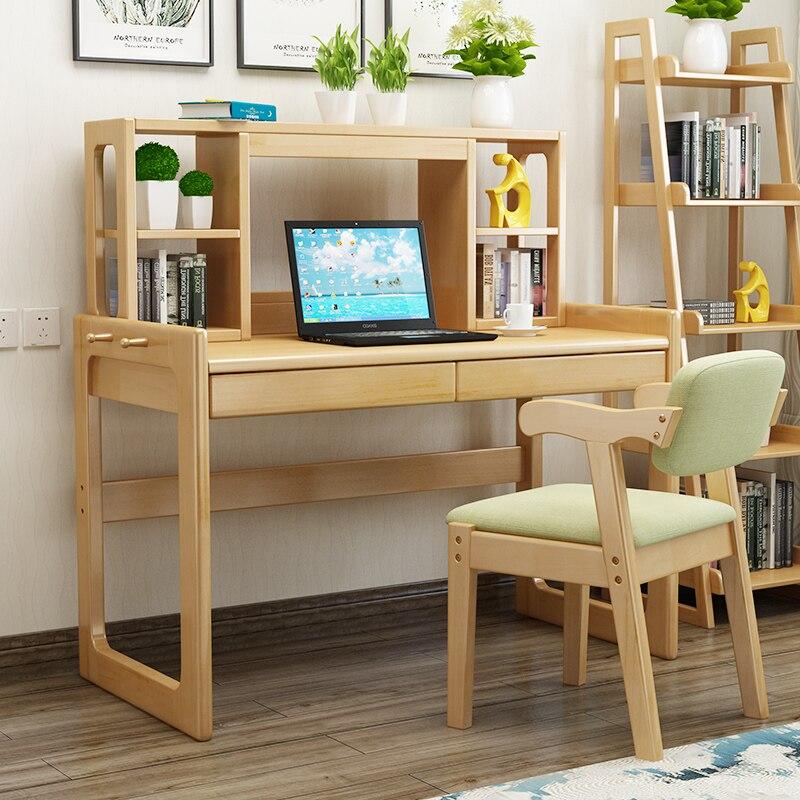 Solid Wood Desk Desktop Computer Desk Nordic Desk Home Student Writing Desk Simple Desk Economical