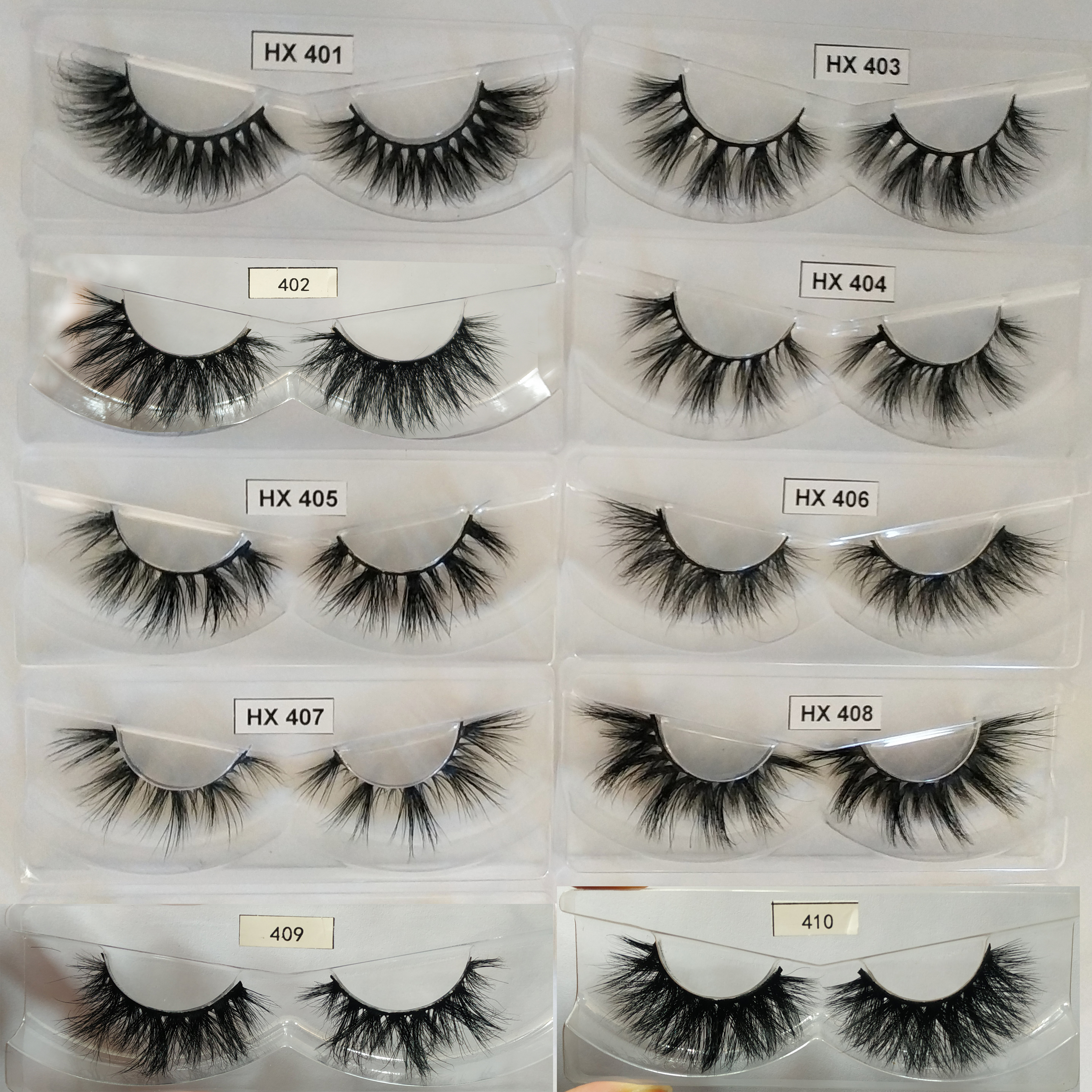 HEXUAN Mink Eyelashes For Makeup 20mm Lashes For ресницы для наращиванияресницы Faux Cils False Eyelashes For Beauty