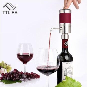 TTLIFE Electric Decanter Wine Pourer Wine Decanter Homebrew Pump Style Cider Appliance Wine Aerator Wine Bottle Bar Accessories
