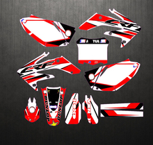 Gratis Aangepaste Motorfiets Graphics Stickers Kit Decal Voor Honda CRF250 CRF250R Crf 250 250R 2004 2005 2006 2007 2008 2009
