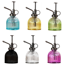 1pc Plant Flower Glass Watering Pot Spray Bottle Garden Mister Sprayer Hairdressing Watering Pot Practical Garden Tool