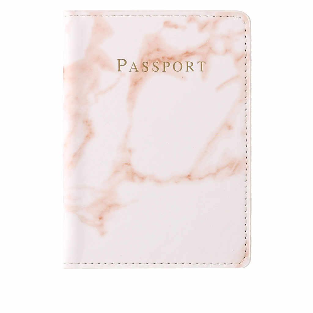 Nuevo titular de pasaporte Protector Multi-tarjeta ID carpeta impermeable cubierta de la tarjeta bolsas обложка на паспорт tarjeta tapa pasaporte titular pasaporte