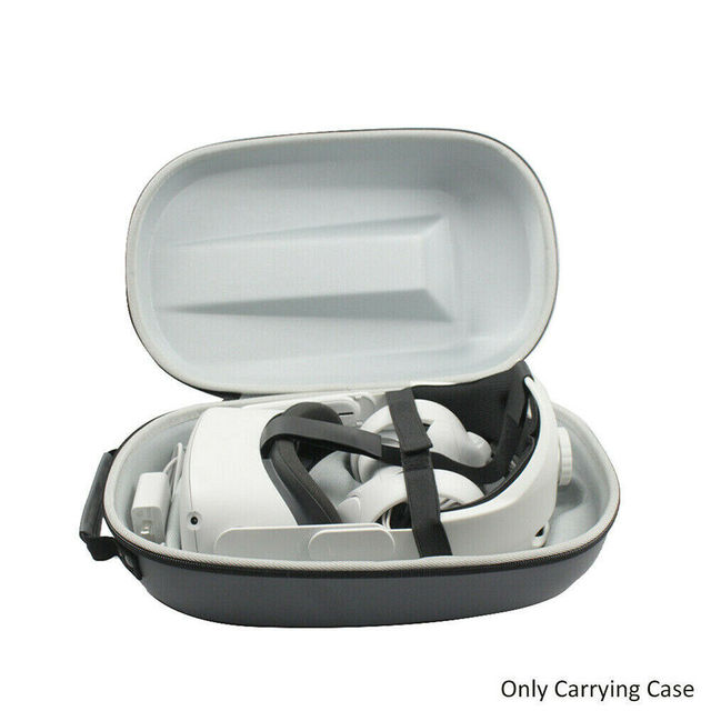 VR Accessories For Oculus Quest 2 VR Headset Travel Carrying Case Hard EVA Storage Box Bag For Oculus Quest2 Protective Pouch 1
