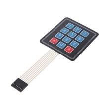 Matrix Array 12 Key Membrane Switch Keypad Keyboard For AVR 4 x 3 a86l 0001 0298 a98l 0005 0255 new 12 key membrane keypad for fanuc freeship 1 year warranty
