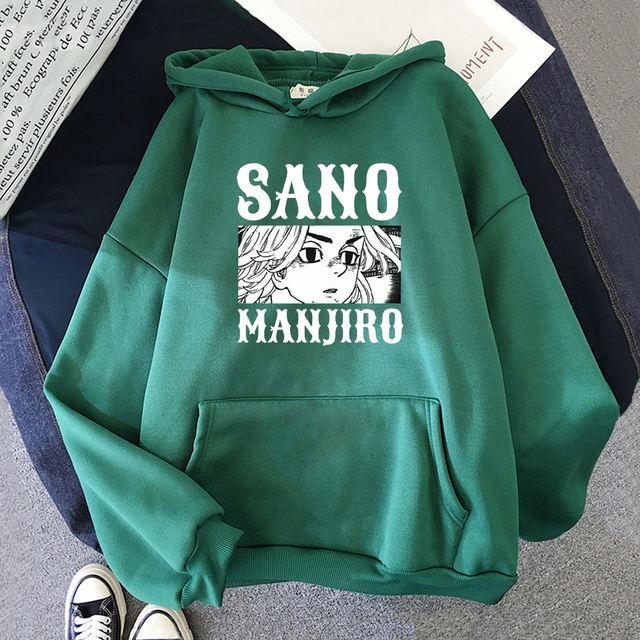 MANJIRO SANO TOKYO REVENGERS THEMED HOODIE