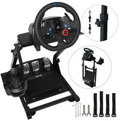 Simulador de corrida volante suporte logitech g29 thrustmaster t300rs