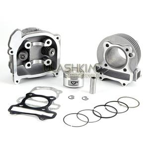 Image 3 - GY6 50 80 Upgrade 100 Cc 137QMA QMB139 4T Cilinder Kit Head Racing Uitlaat A9 Nokkenas Rollers Olie Gear ringen Armen Assemly...