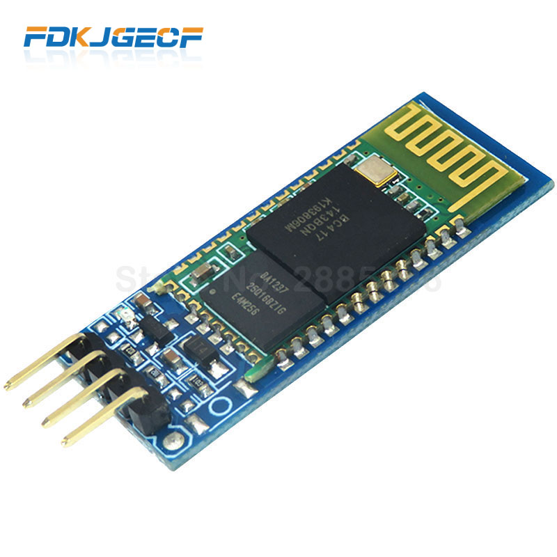 1pcs <font><b>HC06</b></font> HC-06 Wireless Serial 4 Pin Bluetooth RF Transceiver Module RS232 TTL for <font><b>Arduino</b></font> bluetooth module image