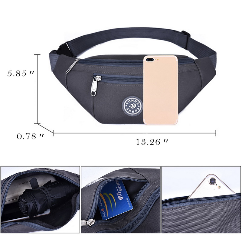Chest bag Nylon Waist Bag Women Belt Bag Men Fanny Pack Fashion Colorful Bum Bag Travel Purse Phone Pouch Pocket hip bag 6