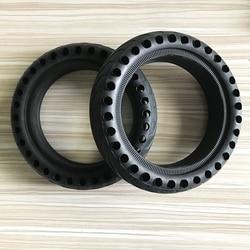 Neumático de amortiguación de Scooter eléctrico mejorado para Xiaomi M365 Scooter para M365 Pro Kickscooter hueco amortiguador neumáticos sólidos