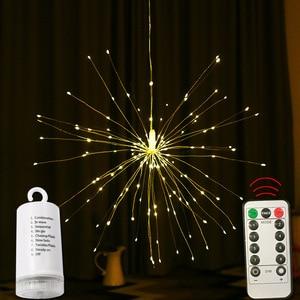 Firework Lights Remote Control 180 LED 6