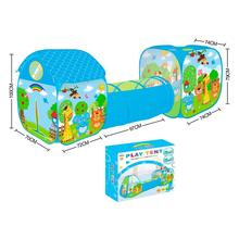 Tunnel Zoo animals folding 3 in 1 infant baby. Adventure tunnel tent folding Interior newborns. Gifts for Babies