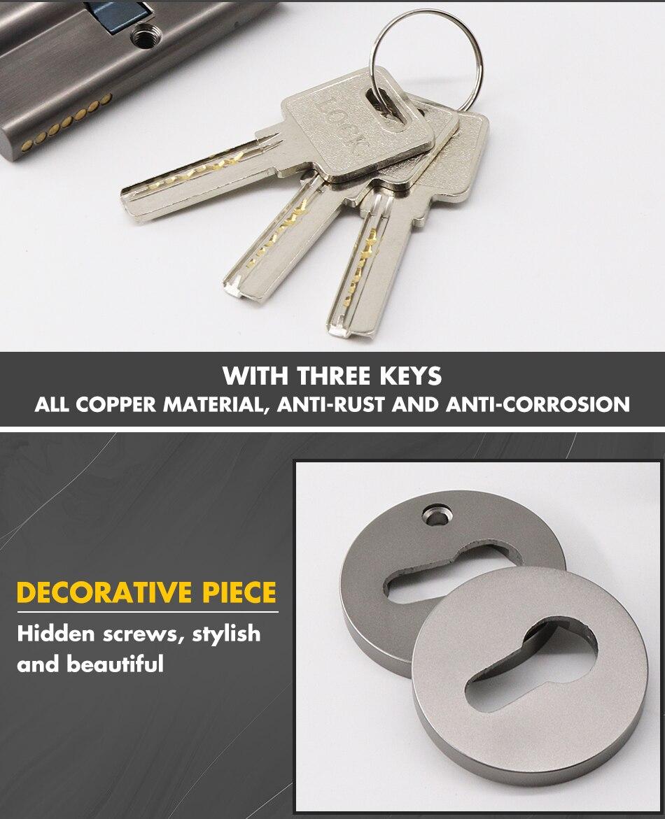 Дверная ручка дверная алюминиевая для межкомнатных дверей с