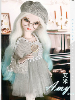 Handmade Female Toy Full Set Jointed Doll