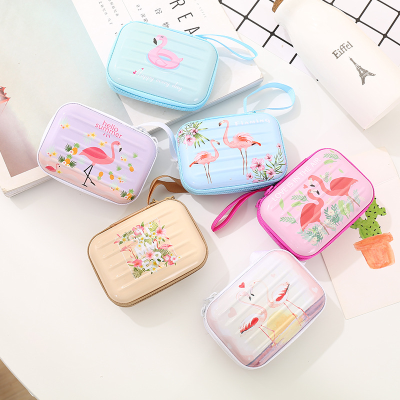 Storage-Bag-Case Headphone-Case Unicorn Bag-Holder Container Cable Metal For Earbuds