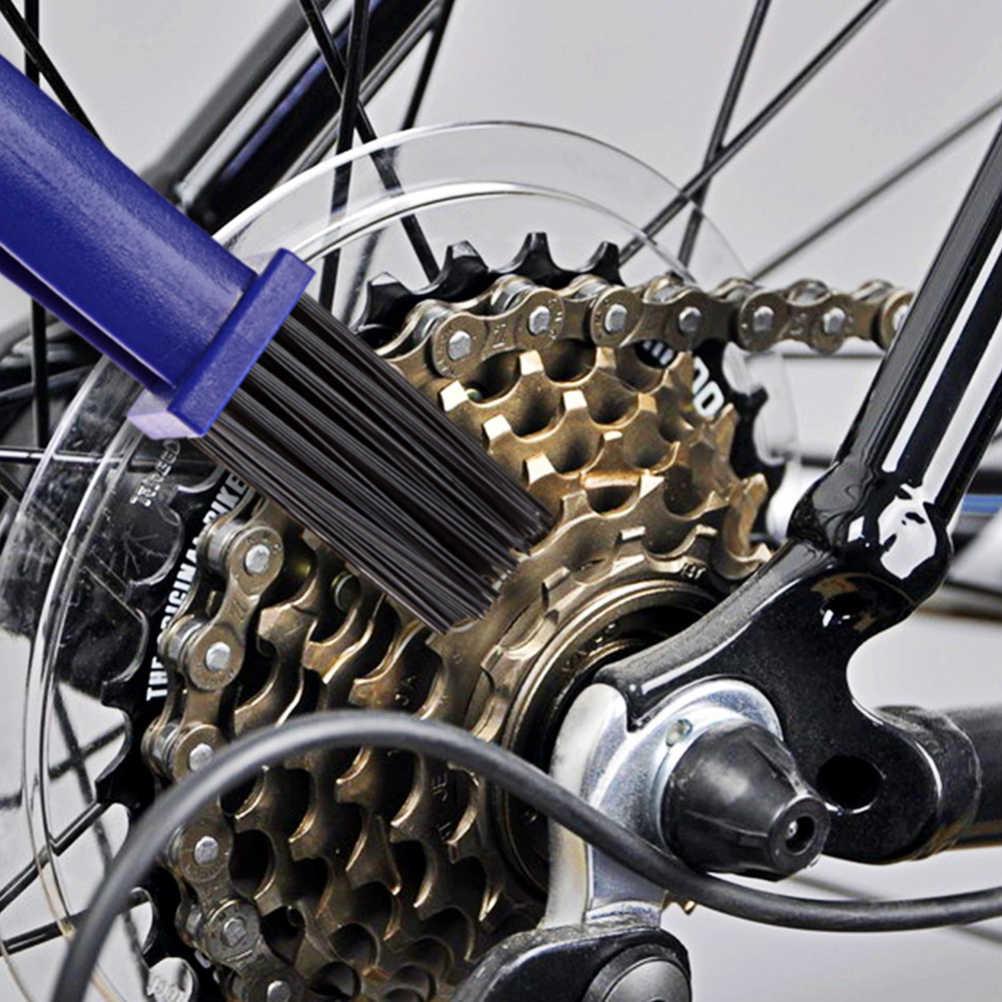 Dişli Grunge Fırça Temizleyici Zincir Tekerlek Volan Bisiklet Aynakol Temiz Fırçalar Bisiklet Motosiklet Zinciri Temizleme Aracı Seti
