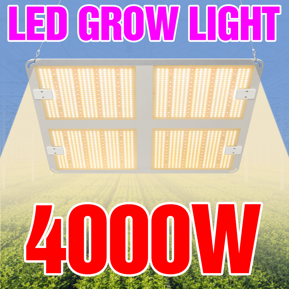 Indoor Led Phyto Groeien Lamp 1000W 2000W 4000W Led 85-265V Full Spectrum Plantengroei licht Led Grow Hydrocultuur Lamp Tent Box