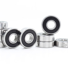 6000-2RS Lager ABEC-5 (10 PCS) 10x26x8mm Tiefe Nut 6000 2RS Kugellager 6000RS 180100 RS