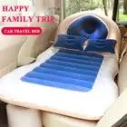 E FOUR надувной матрас для автомобиля утолщенный и двухсторонний Флокированный с 2 надувными подушками матрас для путешествий надувная крова...