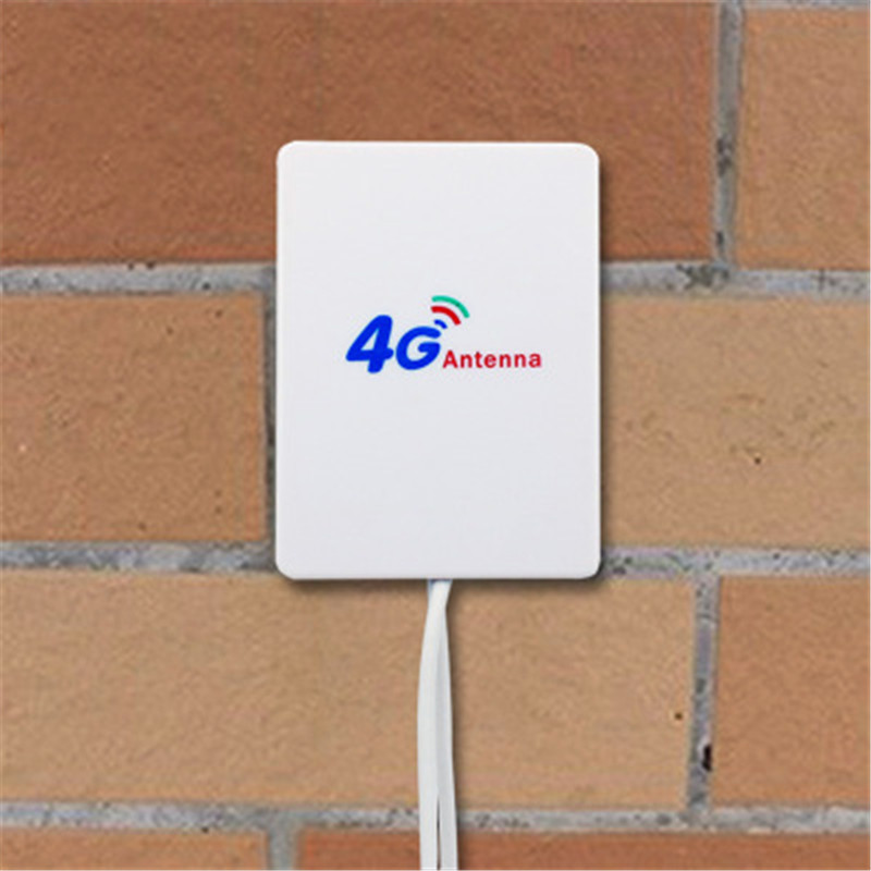 2020 New 4g Antenna SMA TS9 Connector Male 25 DBi 4G Signal Booster High Gain LTE Router External Antenna LTE 3M Cable Aerial