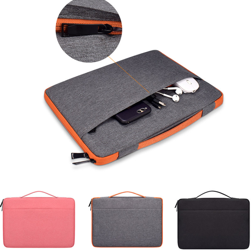Portable Notebook Laptop Bag Sleeve Case For Dell <font><b>HP</b></font> Macbook Xiaomi Microsoft Surface pro <font><b>3</b></font> 4 5 6 GO RT 11 12 <font><b>13</b></font> 14 15.6 inch image